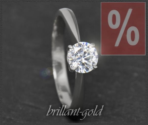 Brillant Ring 1,02ct, River E, Si2; Verlobungsring