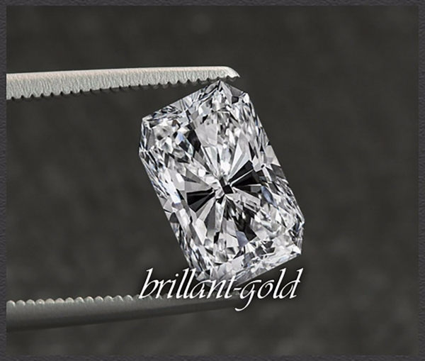 Diamant, 0,53ct im Oktagon Schliff,  River D / VS2