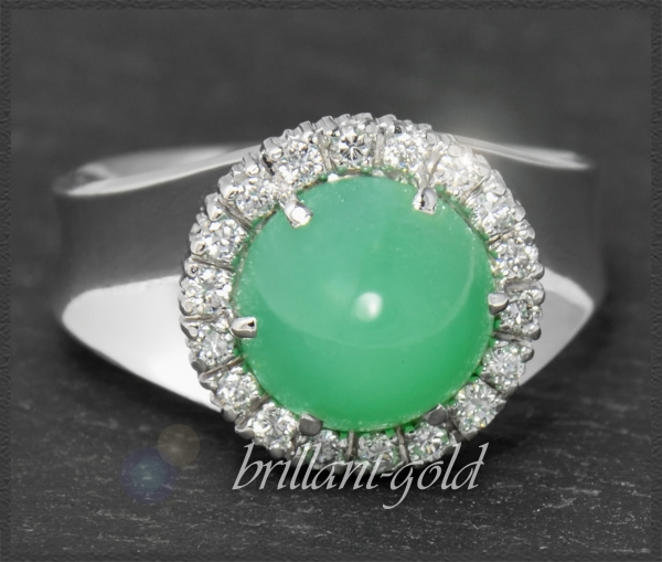 Vintage Cocktail Ring, Brillanten 0,36ct, Lupenrein